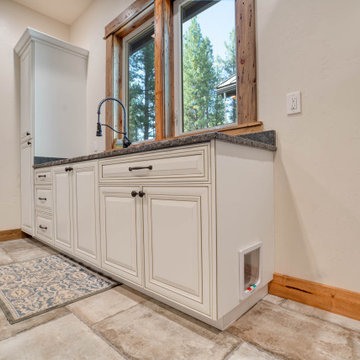 Cabinetry update of kitchen and Master Bath near LaPine Oregon