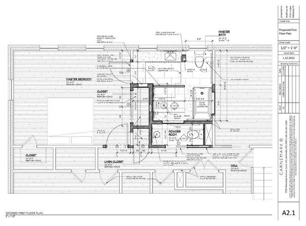 Floor Plan by CARNEMARK design + build