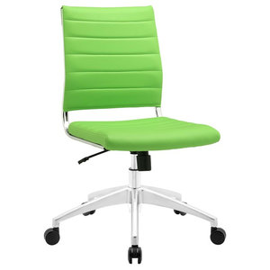 Jive Mid-Back Office Chair in Bright Green