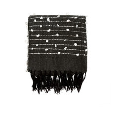 Knot & Weave Throw, Charcoal