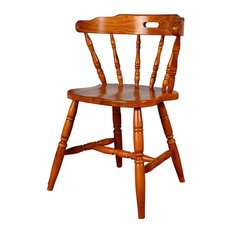 Colonial Solid Wood Side Chair, Set of 2, Cherry
