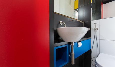 Ein WC à la Mondrian – oder auch der kunstvolle Klogang