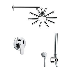 Nameeks SFH6548 Remer Single Handle Shower System Faucet, Chrome