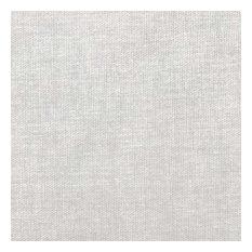 """Almost Linen"" Light Grey Oilcloth Tablecloth, 142x350 cm"