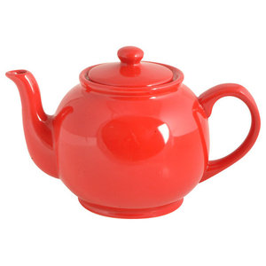Brights Red Teapot, 6 Cup
