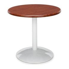 Orbit Table 24-inch Round Cherry Top