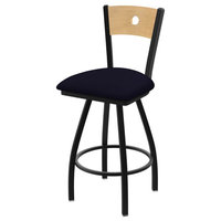 """25"""" Voltaire Swivel Stool With Canter Twilight Seat"""