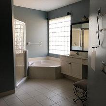 My Master Bathroom And Closet Renovation