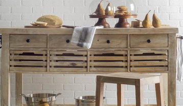 Highest-Rated Kitchen Islands, Carts and Pot Racks