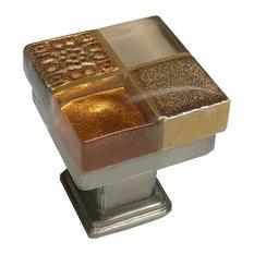 Copper Creek Squared Cabinet Knob, Copper, Oil Rubbed Bronze