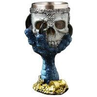 3D Stereo Skull Design Champagne Glass Cocktail Glass 150 Ml