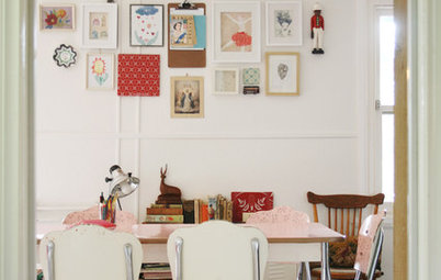 Houzz Tour: An Artist's Take on Vintage-Eclectic