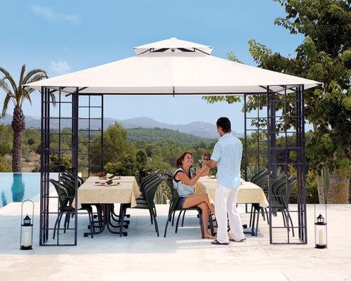 Pavillon Toscana - Ruheoase im Garten - Gartenpavillons