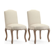 Celine French-Style Dining Chairs, Cream, Set of 2