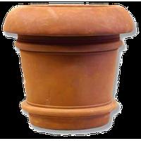 Oversized Lip Urn 19 H, R Garden Planter