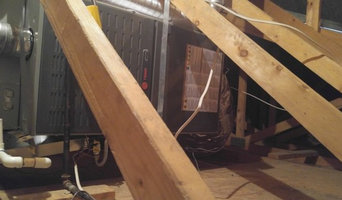 Mesa duct redesign and unit installation