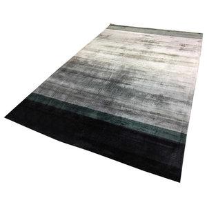 Linie Combination Rug, Dark Blue, 170x240 cm