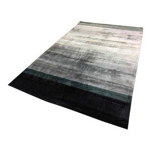 Linie Combination Rug, Dark Blue, 140x200 cm