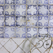 Old Faro Patterned Ceramic Tiles