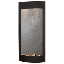 Contemporary Indoor Fountains by Adagio Water Features