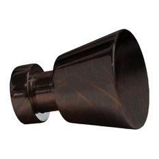 Traditional Brass Cabinet Knob in Oil Rubbed Bronze Finish