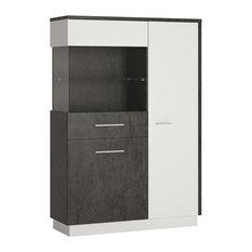 Zingaro Display Cabinet, Display Case on Left
