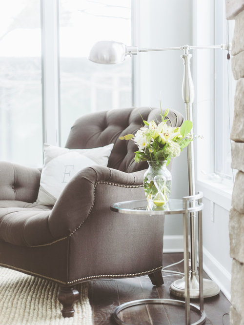 bedroom reading chair. Inspiration for a beach style home design remodel in Minneapolis Comfortable Bedroom Reading Chair  Houzz