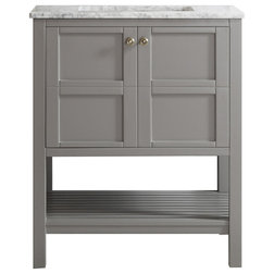 Trend Transitional Bathroom Vanities And Sink Consoles by Vinnova