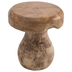 Rustic Accent & Garden Stools by Ancient Mariner Furniture