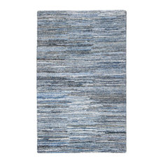 Anji Mountain Fame Rug Blue And White 5 X8 Area