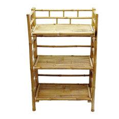 Bamboo54 Bamboo Shelf Cabinet Bookcases