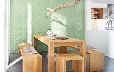 Väck dina väggar: 3D-strukturer som gör hemmet levande
