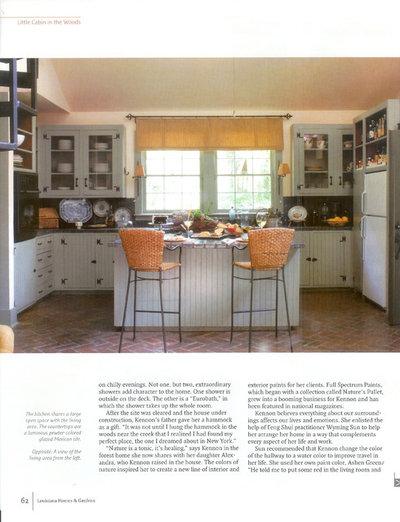 Eclectic Kitchen by Ellen Kennon Design