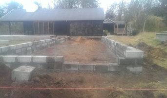 Fundament til tilbygning