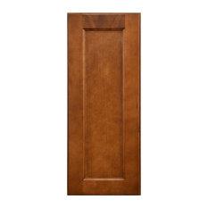 "Sunny Wood ESW1230-A Ellisen 12"" x 30"" Single Door Wall Cabinet - Amber Spice"
