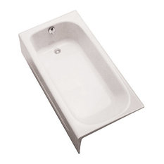 "Toto FBY1515LP 59-3/4"" Soaking Bath Tub for Alcove Installations with Left Hand"
