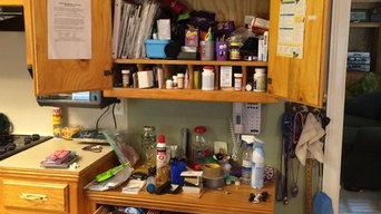 Cabinet Before Organizing