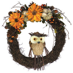 Rustic Wreaths And Garlands by WORTH IMPORTS