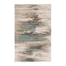 Jaipur Living Ryenn Handmade Abstract Gray/Blue Area Rug, 9'x13'