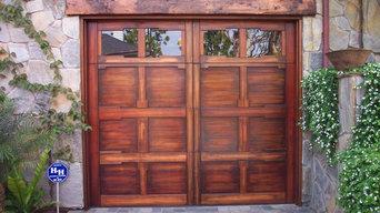 Our Custom Wood Garage Doors
