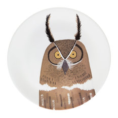 Nocturnal Owl Plate