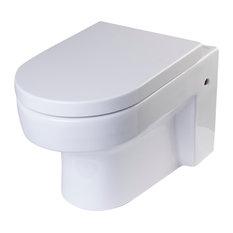 eago round modern wallmount dualflush toilet toilets
