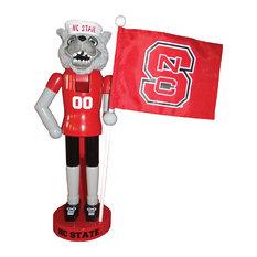 """12"""" Nutcracker State Mascot and Flag Nutcracker"""