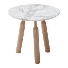 Ninna Calacata Marble Coffee Table