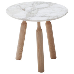 Ninna Calacata Marble Coffee Table