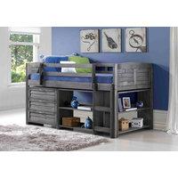 Gribas Low-Loft Bed