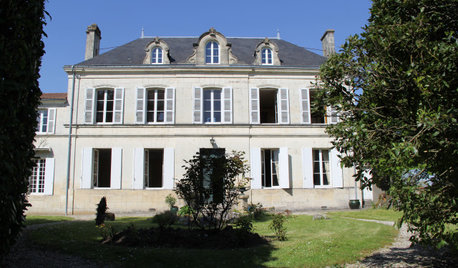 Before & After: A French Manor House Inspired by Houzz