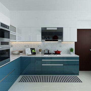 Ms. Shikha's   4 BHK Apartment   PLH   Bonito Designs   Bangalore