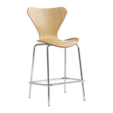 Fine Mod Imports Jays Counter Stool, Natural