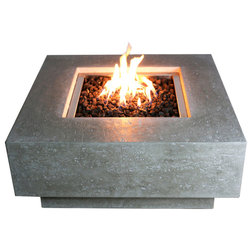 Transitional Fire Pits by Patio, Garden and Landscape Co.